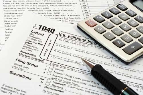 1040 Income Tax Prepaird