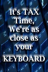 It is getting close to Income Tax time, can we help you?